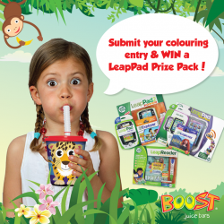 Boost Juice | FREE colouring book with purchase