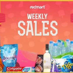 RedMart | weekly sales