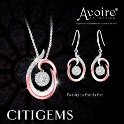 CITIGEMS | Beauty in Swirls Set at $688