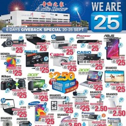 Audio House Singapore | 25th Anniversary Sale Extended