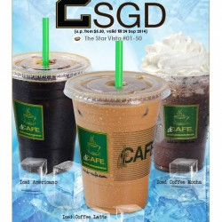 Star Vista | $2 Tall size iced drinks at dr.CAFE