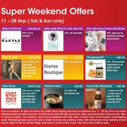 One Raffles Place | Up to 20% off Super Weekend Offers