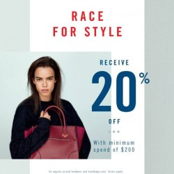 ALDO | 20% off with minimum spend of $200