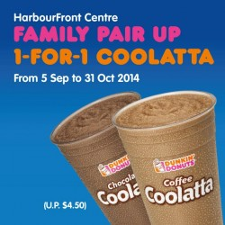 Dunkin' Donuts | 1-for-1 Coolatta at Harbourfront store