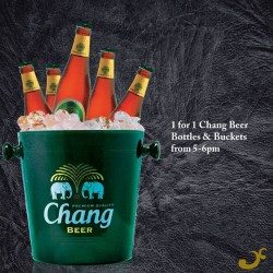 Nara Thai | 1-for-1 Chang Beer bottles or beer buckets