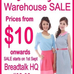 JOOP | Warehouse SALE at Breadtalk HQ