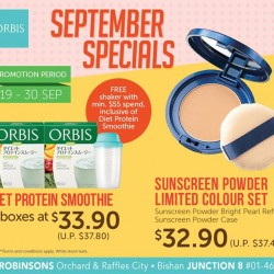 ORBIS | September promotions