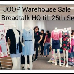 JOOP | warehouse sale extended