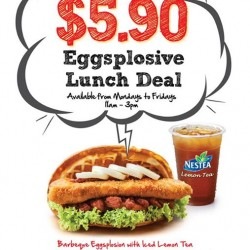 Griddy | explosive lunch deal at $5.90