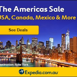 Expedia | The Americas Sale