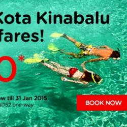 AirAsia | Fly to Kota Kinabalu from base fare of $10