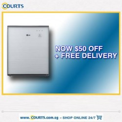 Courts | $50 off AIR PURIFIER SALE