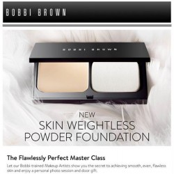 Bobbi Brown | Flawlessly Perefect Masterclass event