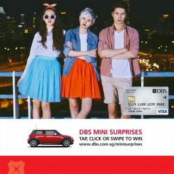 DBS | 15% off storewide with min. spend of S$50 at Arcade