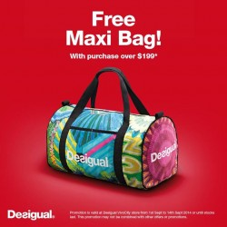 Desigual | Free Maxi Bag with purchase over $199