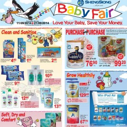 Sheng Siong | Baby Fair promotion 2014