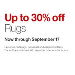 Crate and Barrel | Up to 30% off rug sale