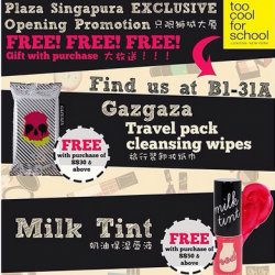 too cool for school | Plaza Singapura NEW STORE Opening special