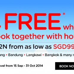 AirAsiaGo | Fly free when book together with hotel