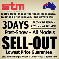 STM Bags  | post-show sell out sale