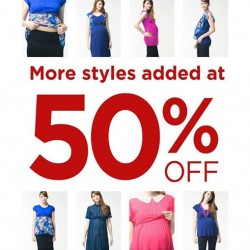 Spring Maternity | Up to 50% off at Takashimaya baby fair