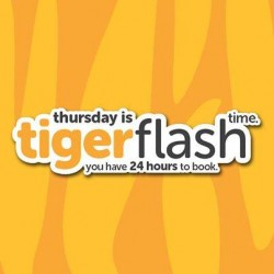 TigerAir | Thursday Tigerflash to Hong Kong and Bangkok from $9