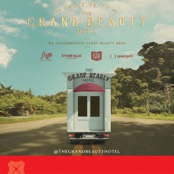 The Grand Beauty Hotel   pop-up truck beauty buys