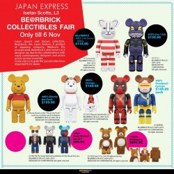 Action City | BE@RBRICK COLLECTIBLES FAIR at Isetan Scotts