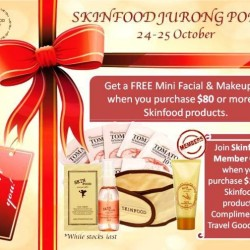 Skinfood | Special promotion at Jurong Point