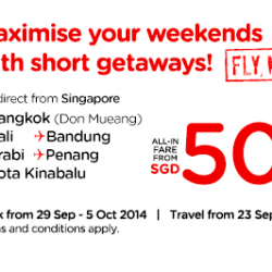 AirAsia | ALL-IN fare from SGD50