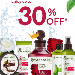 Yves Rocher | Up to 30% off botanical hair products