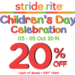 Stride Rite | 20% OFF STOREWIDE with any shoe purchase