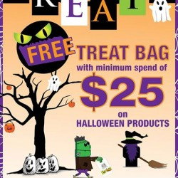 The Cocoa Trees | Free Treat Bag Promotion