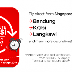 AirAsia | One-way base fare from S$5
