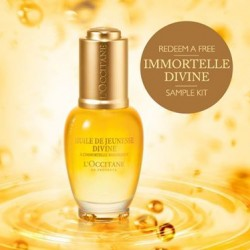 L'OCCITANE | FREE Immortelle Divine sample kit