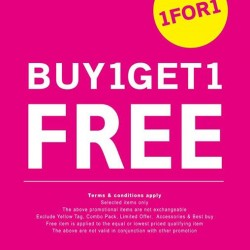 NET | Buy 1 Get 1 promotion
