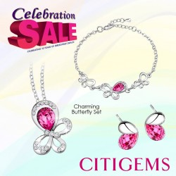 CITIGEMS | Butterfly sets at $58/Set