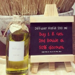 BsaB | the Bsab Diffuser Refill 200ml promotion