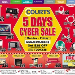 Courts Online | S$35 off Coupon Code