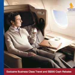 UOB | Singapore Airlines Business Class promotion