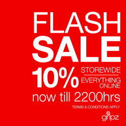Gripz | Flash sale 10% off store wide