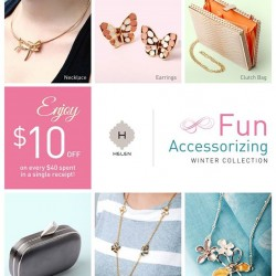 ENJOY $10 OFF @Helen Accessories