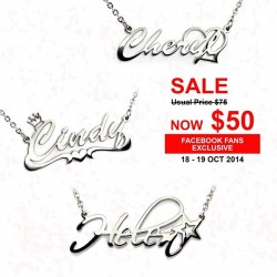 Metallurgy | Name Jewellery Pendant at $50 promotion