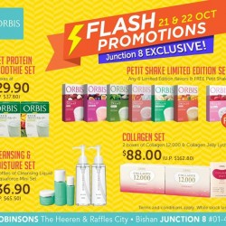 ORBIS | Junction 8 exclusive Flash Promotions