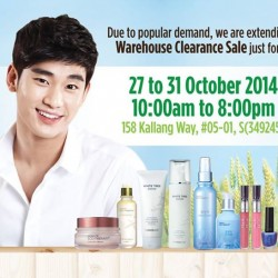 The Face Shop | Extended warehouse sale up to 80% off