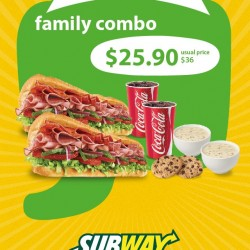 Subway | week 3 flash-to-redeem discount coupons