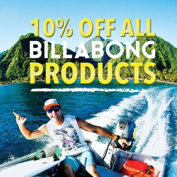 Billabong | 10% off store wide at Takashimaya