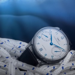 Jomashop | IWC Portuguese Automatic Steel Blue Mens Watch IW500107