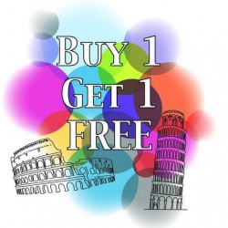 Gelato | Buy 1 Get 1 Free Promotion