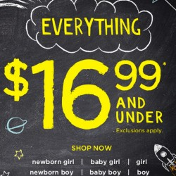 GYMBOREE USA | Everything US$16.66 and under